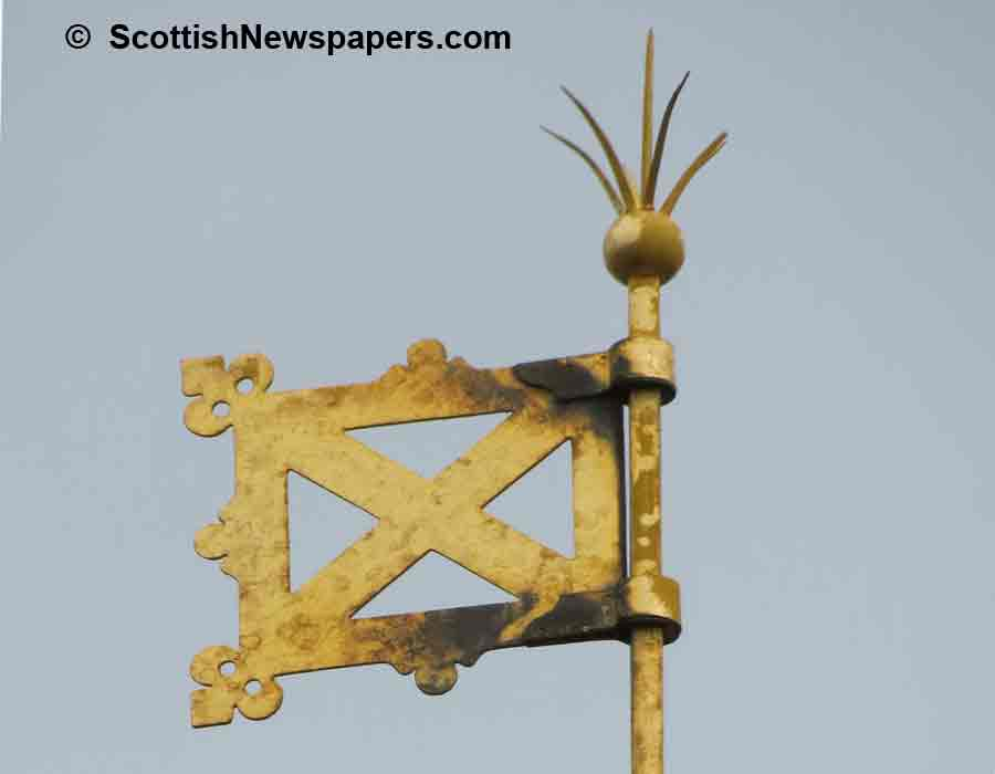 Scottish Symbols: Scottish Flag Emblem Symbol of Scotland